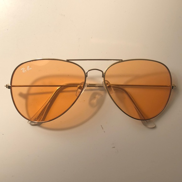 Ray-Ban Accessories   Orange Tinted Lens Ray Ban Sunglasses   Poshmark a1370bf50a54